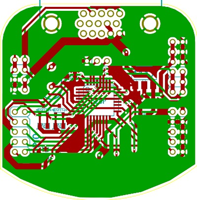 render from KiCad