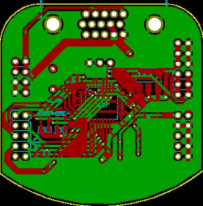 TWILight - VGA I²C breakout board - atx